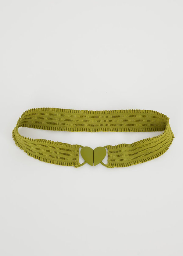Fantastisc elastic belt Lime Heart