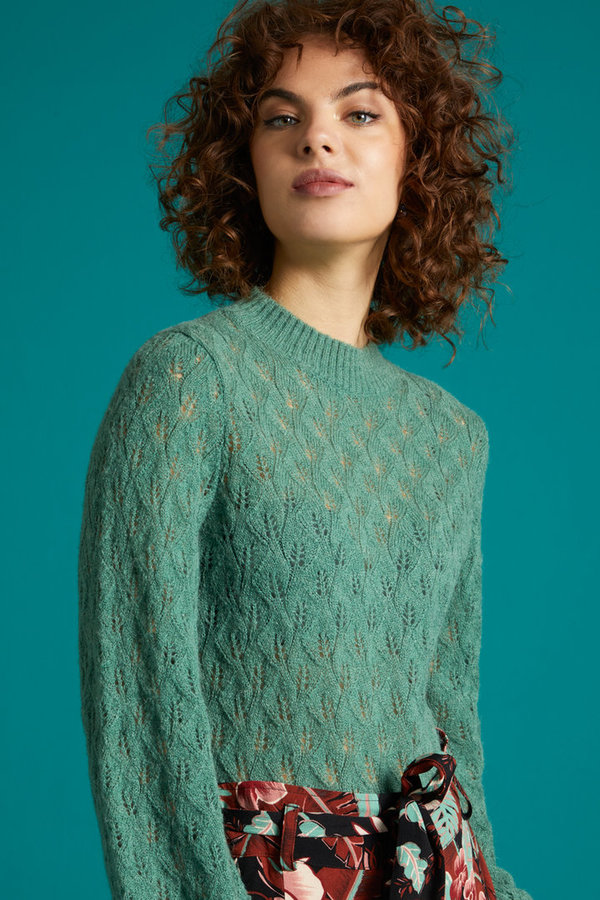 Jeannie sweater Vallina Fir green -50%