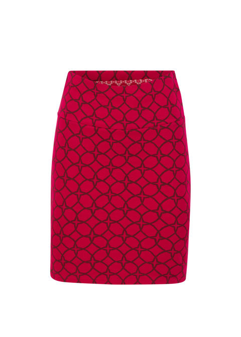 Straight pencil skirt, Cut and sew circles