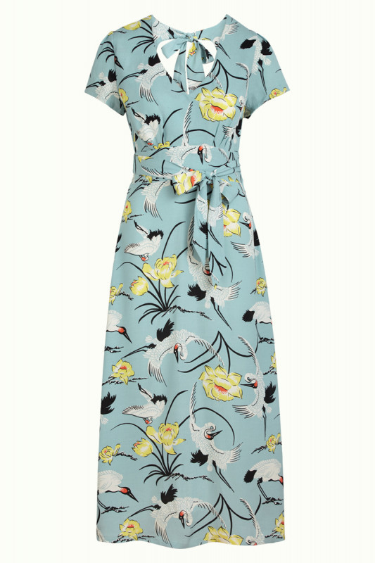 Shiloh dress Del rey, Blue Haze